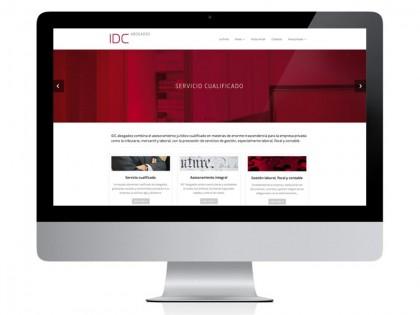 Nueva web IDC Abogados