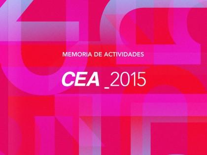 CEA: Memoria de Actividades 2015