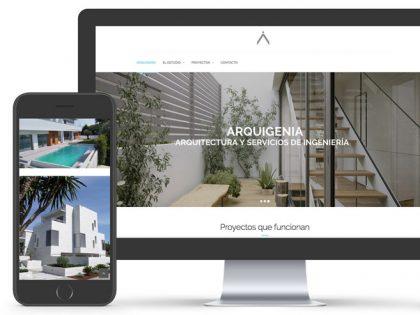 Nueva web Arquigenia